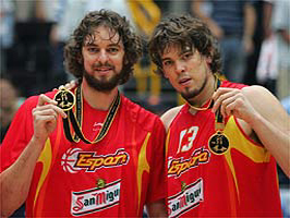 Gasol squared… we got the handsome one