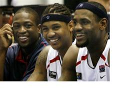 us olympic basketball team professionals from NBA