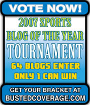2007 Sports Blog Of The Year Tournament