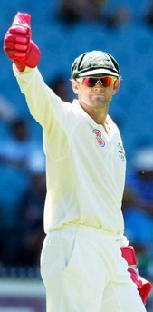 Adam Gilchrist - his last day of Test Cricket