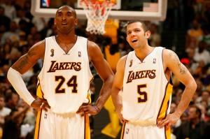 Kobe & 'Ear' Jordan